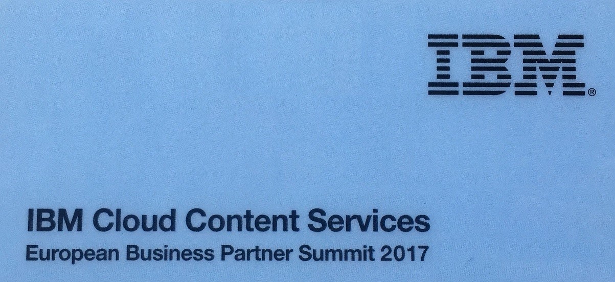 IBM European Business Partner Summit in Prague